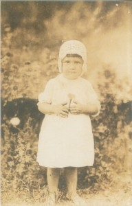 Grace Jackson at about age 3